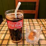 ブッチャーズキッチン - ...「アイスコーヒー(250円)」、ハンバーガーとセット価格にして欲しいかな。。