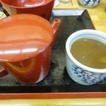 饕餮庵 - 蕎麦湯