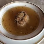 コーナーハウス - テールスープ。裏メニューなれどお勧めの逸品。