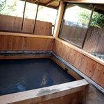 阿蘇 火の鳥温泉 欧風料理宿 ログ山荘 火の鳥 - 宿泊したログハウスの温泉