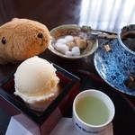 伏見夢百衆 - 清酒アイスクリームのセット