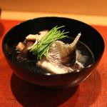 会席料理 岸由 - 鯛のうしお汁 (2014/04)
