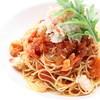 ラ・ターナ・ディ・バッコ - 料理写真:ズワイ蟹のスパゲッティアラビアータ