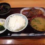 のれん - 鯖味噌煮定食
