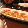 プッチー - 料理写真:シラスとアボカドのクロスティーニ (エクストラヴァージンオリーブオイルの香り)