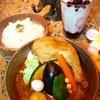 ヴァサラロード - 料理写真:スープカレー&ラッシー