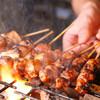 """炭焼き勘九郎 - 料理写真:こだわりの炭火で一本一本""""職人""""が焼き上げてます"""