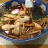 和風中華そば 丸万 - 料理写真:天ぷら中華700円