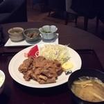 ザ サクラ ダイニング トウキョウ - 2014.4 生姜焼き