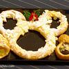 チックタック・ダイナー - 料理写真:クリスマス ウィッシュ スペシャルブレッド リース形ブレッド