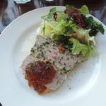 バル ノーネーム - 田舎風お肉のテリーヌ690円