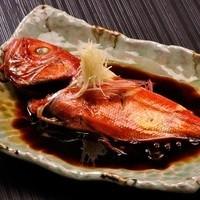 ◆【オススメ】 名物 金目鯛の煮付け…3,000~5,000円