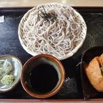 レストラン 大王 - わさび菜いなりそばセット