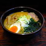 喰麺家 冬馬 - 味噌とんこつ(750円)