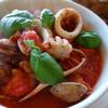イタリアン・トマト カラオケパーク - 料理写真:ペスカトーレ(\900)