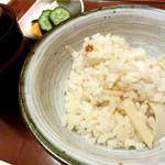 日本料理 桜楽 - <4月夜肉魚>竹の子ごはん