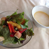 アミーゴ - 料理写真:ランチサラダ&スープ