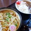 うどん処 ゆずりは - 料理写真:ランチ カレーセット(\500)