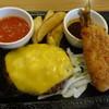 ステーキガスト - 料理写真:ハンバーグ・イタリアン&鰺フライ