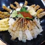 村上水産 - もさえび丼