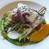 カフェレストラン グラッチェ - 料理写真:イタリア産生ハムと旬野菜のジェノベーゼ