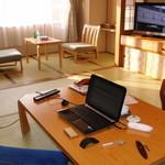 章月グランドホテル - 自分の部屋と化している図