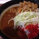 どんぶりかんじょう - スタミナカレー丼(大盛り) ¥250(第4金曜割引)+100