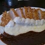 ア・ラ・ブッフ・シュン - 料理写真:カツカレー、チーズトッピング
