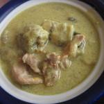 ピッチーファー - グリーンカレー 柔らかい鶏肉がゴロゴロ