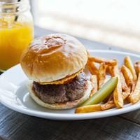 食べ応えgoodなハンバーガー