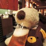 青葉苑 - まずはビールで、のどをうるおすボキ。ぷはぁ~