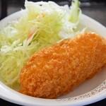 青海食堂 - 野菜コロッケ。