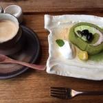 マメゾウアンドカフェ - ケーキセット♪