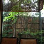 きこにあ - お庭を眺めれていい雰囲気です