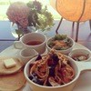 IBIZA - 料理写真:パンケーキとパスタのランチプレート