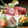 美食 米門 - 料理写真:おまかせお刺身五種盛り合わせ