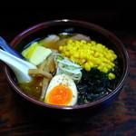 喰麺家 冬馬 - 塩バタコーン(900円)