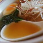 ラーメン まるいし - スープ