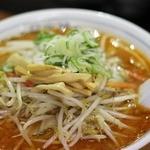 かつや食堂 - 辛い味噌ラーメン(中辛)