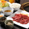 かわちどん - 料理写真:お値打ちな牛カルビランチセット