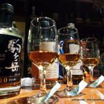 Arika - シングルモルトの飲み比べ。 竹鶴 10年 駒ヶ岳 10年 駒ケ岳 シングルカスク 1985 シェリーカスク! 1985年蒸留、2012年6月の瓶詰の超限定品です。
