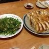 かじ村 - 料理写真:餃子、チャーシュー盛