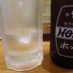 立ち呑み市場 - ホッピー350円 しっかり3冷状態!!