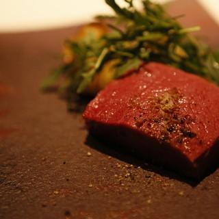 カイノヤ - 料理写真:熟成牛のアイアンステーキ
