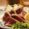 魚々楽 - 料理写真:今が旬!!初カツオのわら炙り 850円