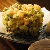 魚々楽 - 料理写真:小海老と九条ねぎのかき揚げ 650円