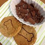 ドッグカフェ*プティシアン* - ワン用馬肉と雑穀パンケーキ