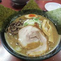 ら-めんもっちぃ - 黒味噌黒麺