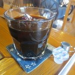 ログカフェ空 - アイスコーヒー