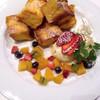 Cafe ボローニャ - 料理写真:フルーツフレンチトースト